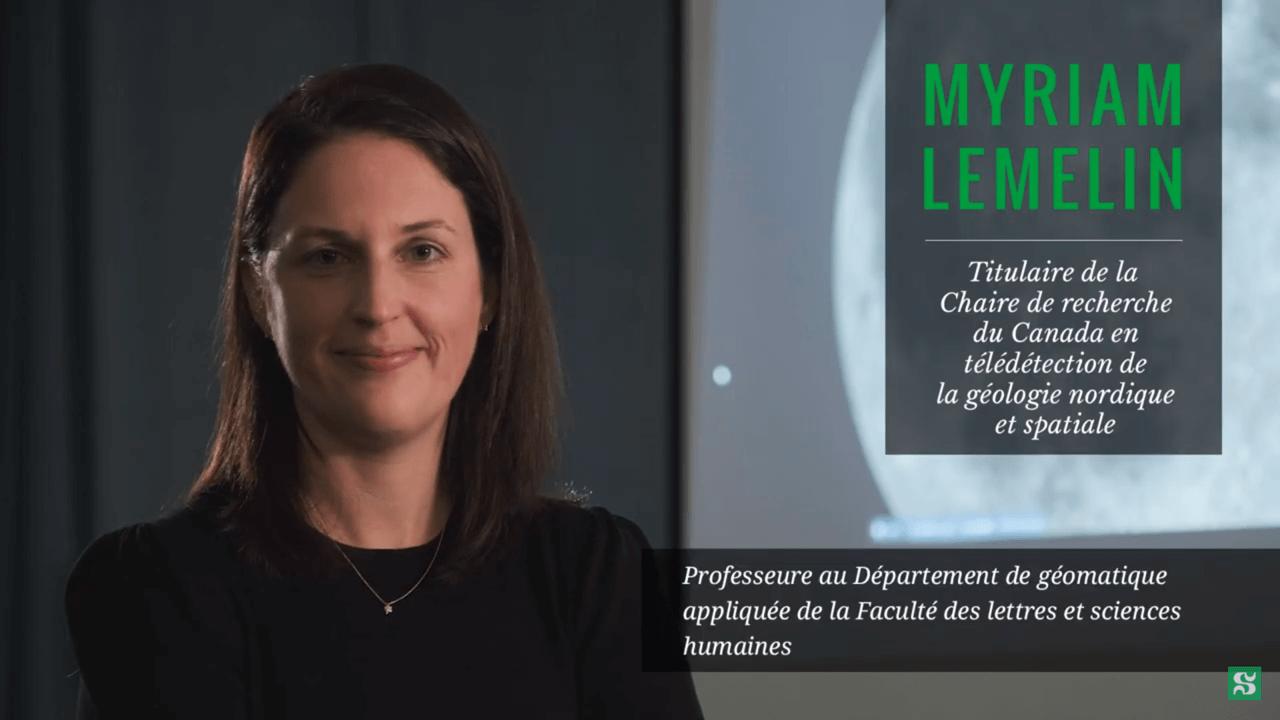 Vidéo Myriam Lemelin
